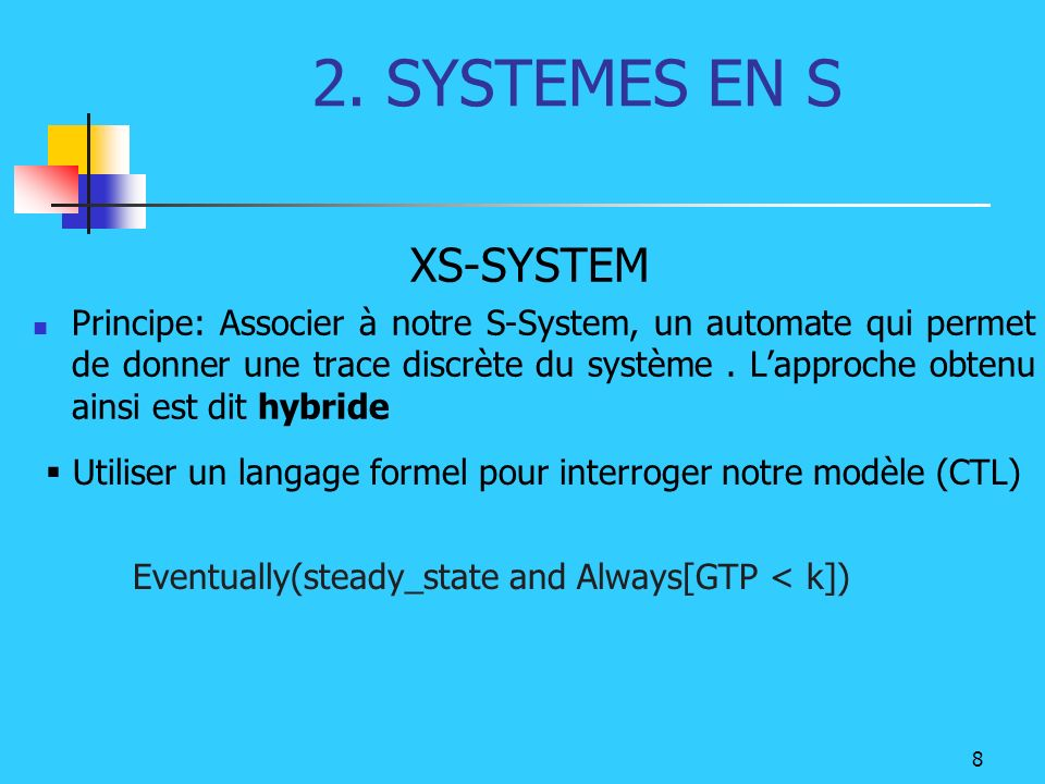 2. SYSTEMES EN S XS-SYSTEM