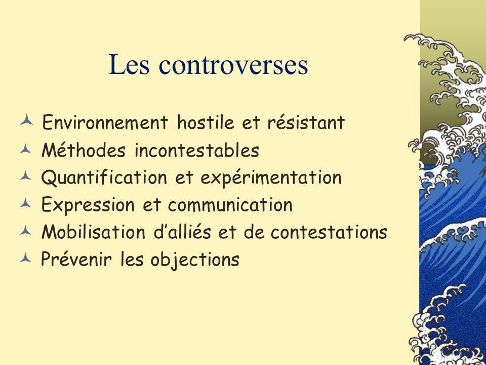 Les controverses Environnement hostile et résistant