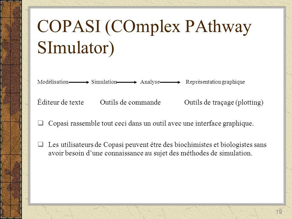 COPASI (COmplex PAthway SImulator)