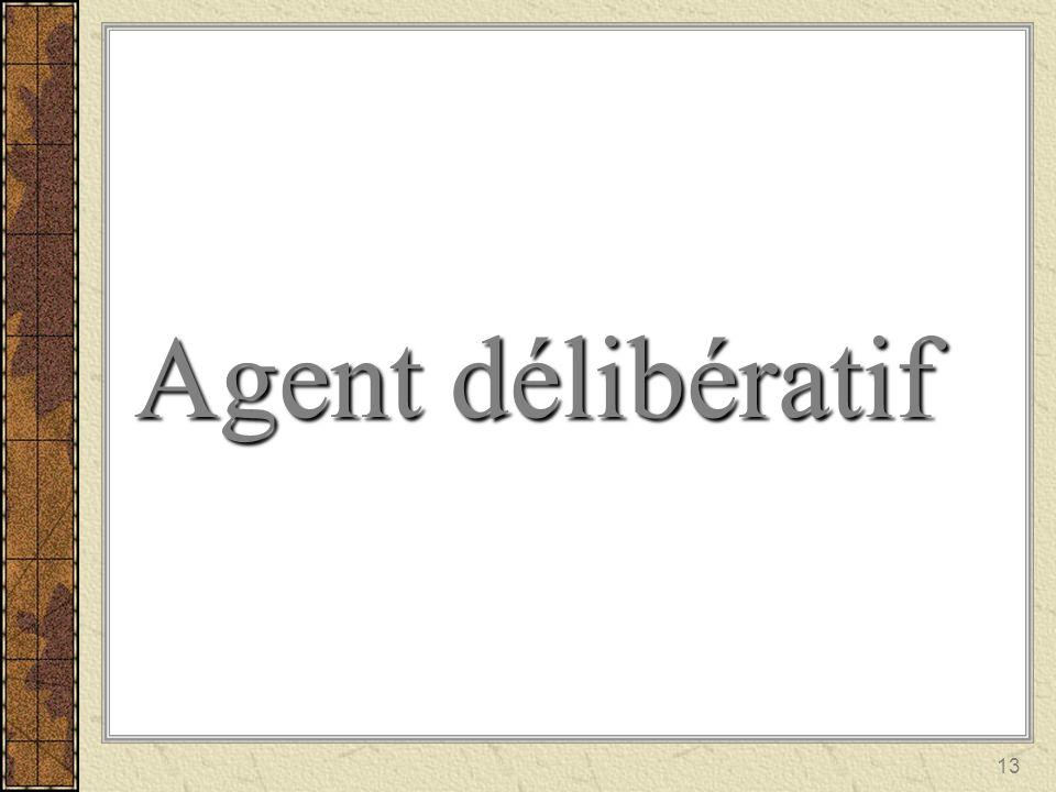 Agent délibératif