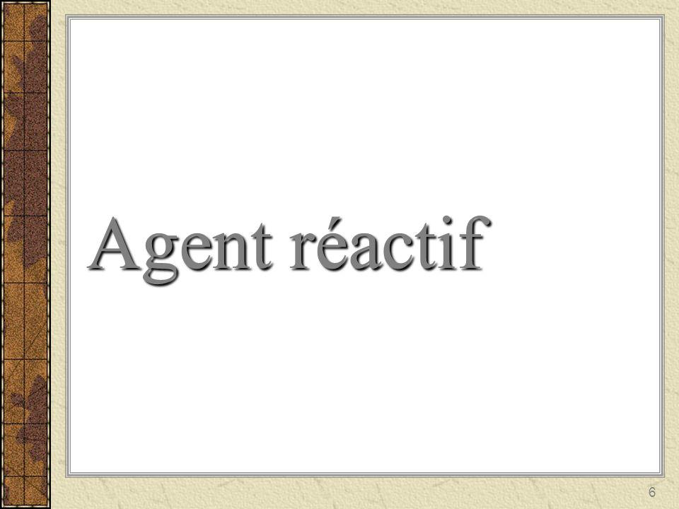 Agent réactif