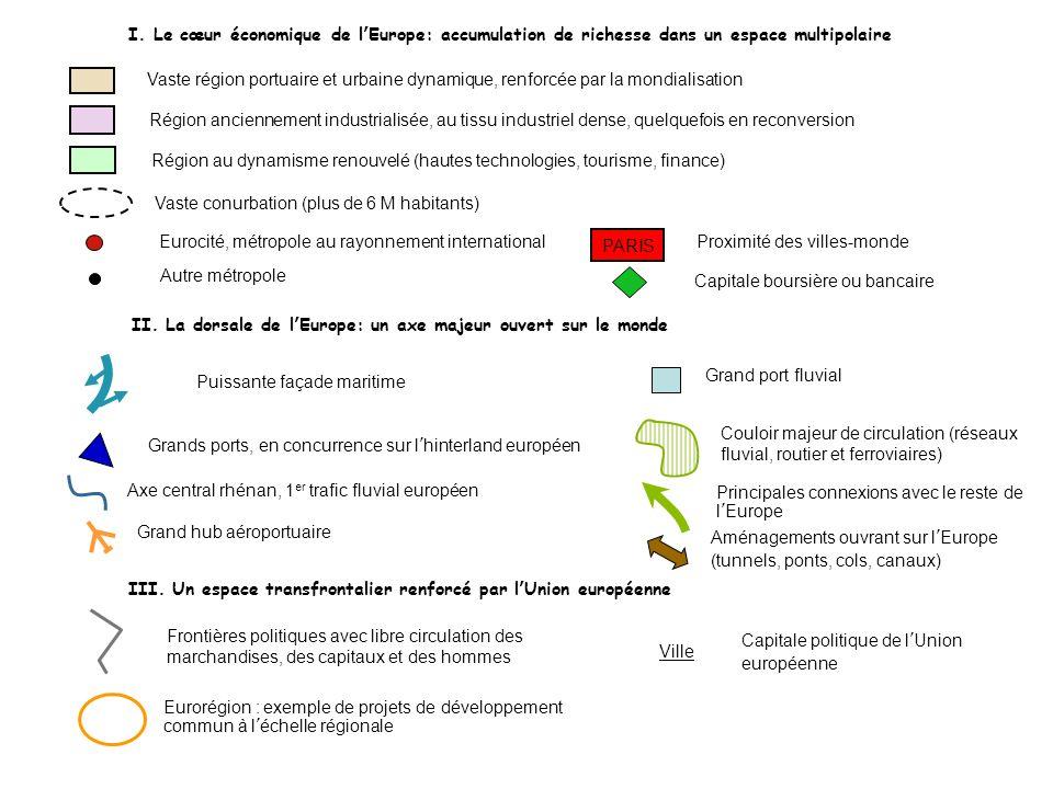 Région au dynamisme renouvelé (hautes technologies, tourisme, finance)