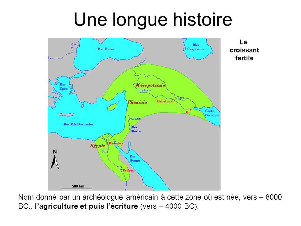 Une longue histoire
