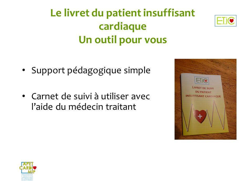 Le livret du patient insuffisant cardiaque Un outil pour vous
