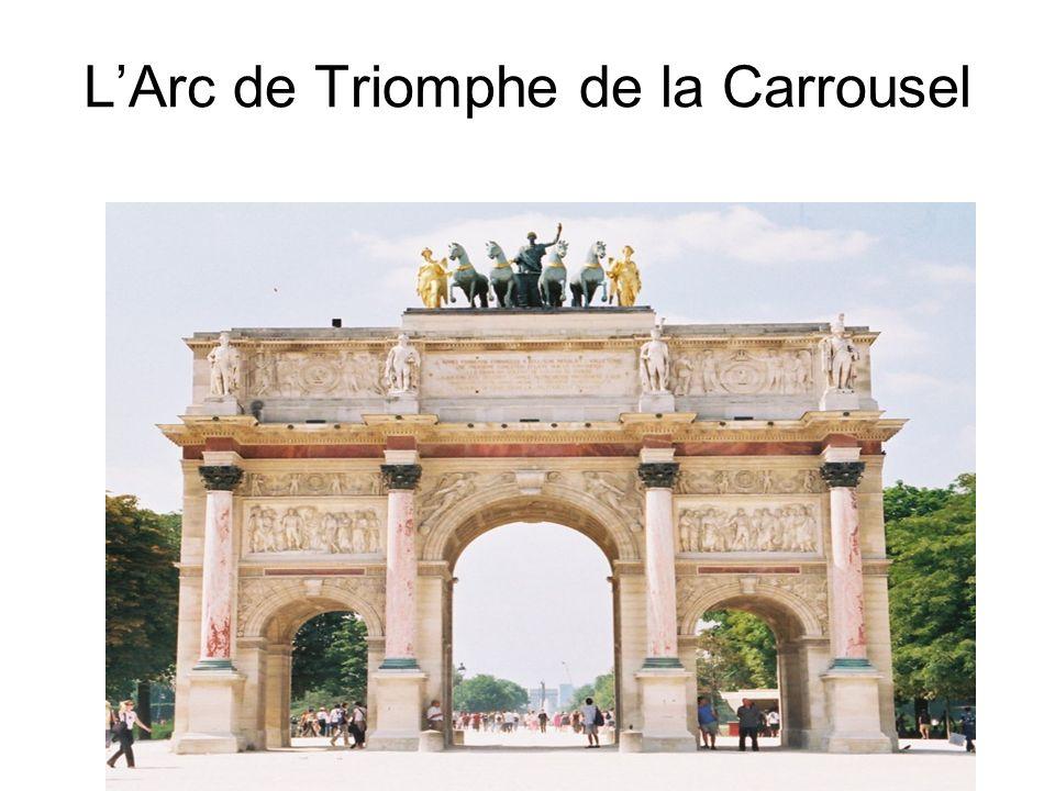 L'Arc de Triomphe de la Carrousel