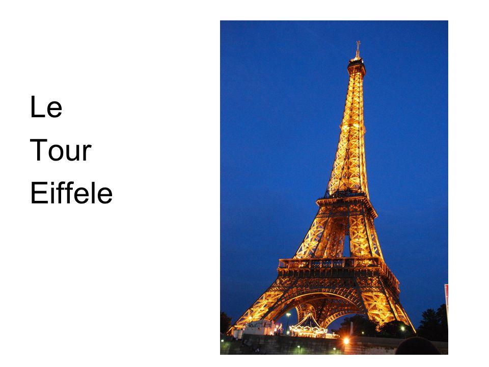 Le Le Tour Eiffele
