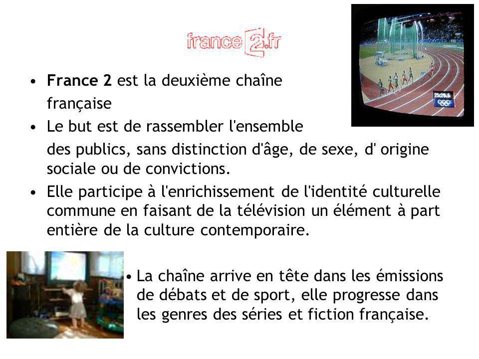 France 2 est la deuxième chaîne