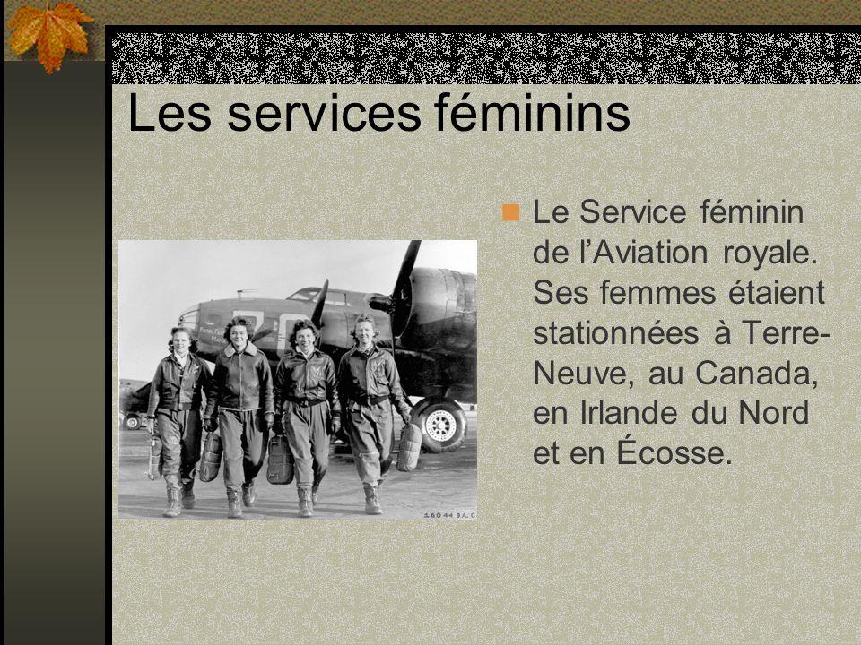 Les services féminins