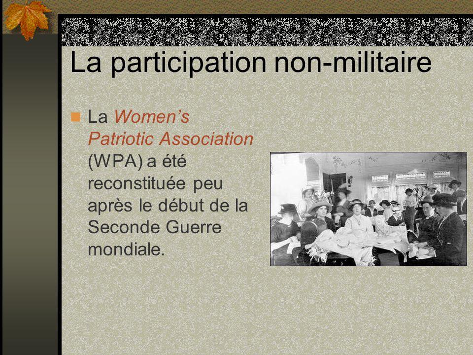 La participation non-militaire
