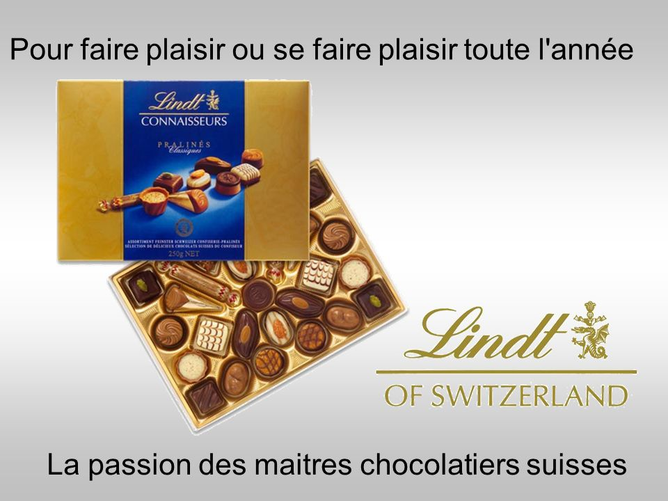 La passion des maitres chocolatiers suisses