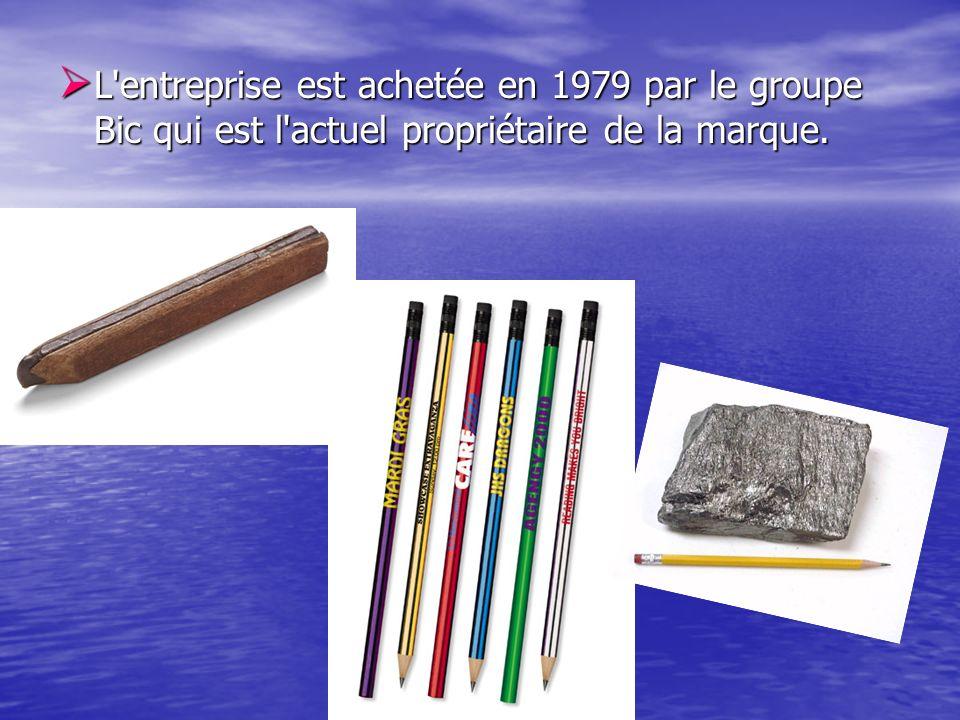 L entreprise est achetée en 1979 par le groupe Bic qui est l actuel propriétaire de la marque.