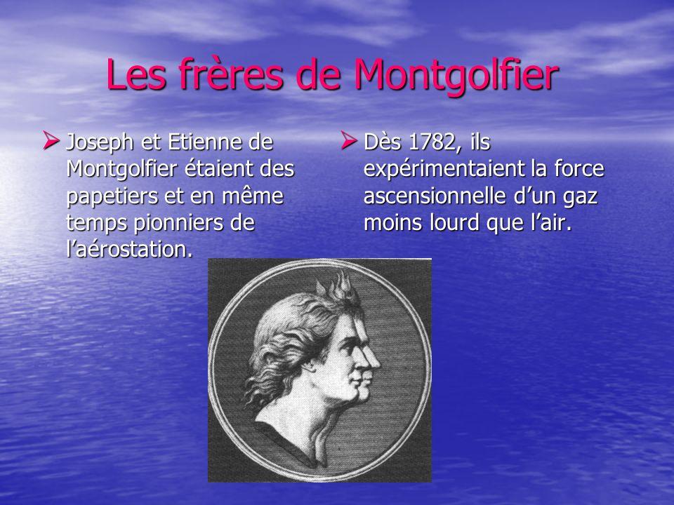 Les frères de Montgolfier