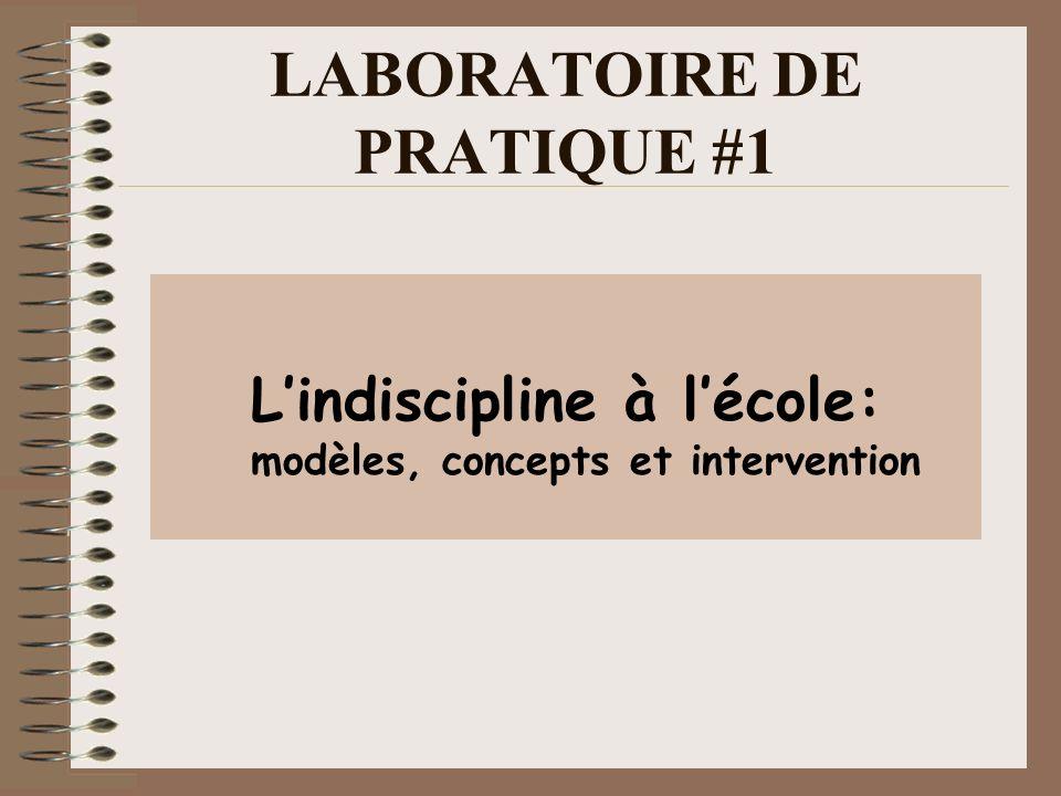LABORATOIRE DE PRATIQUE #1