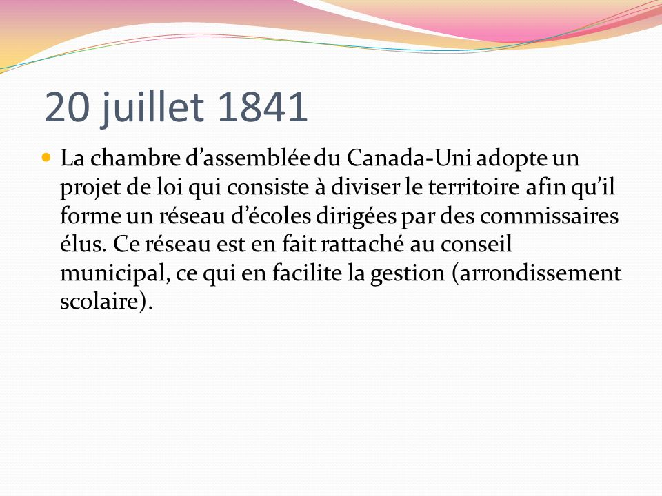 20 juillet 1841