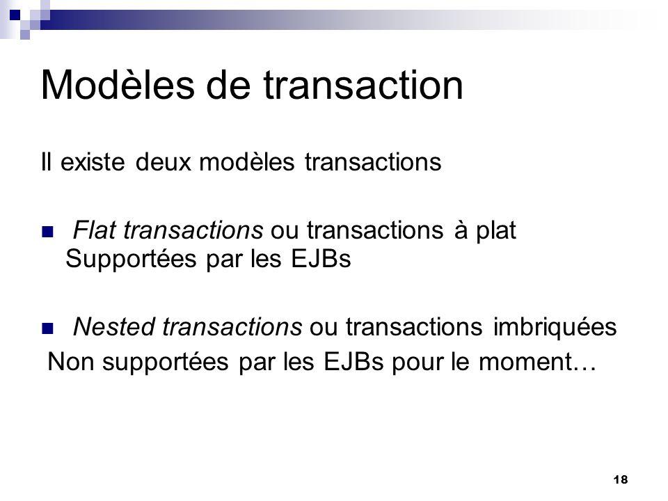 Modèles de transaction