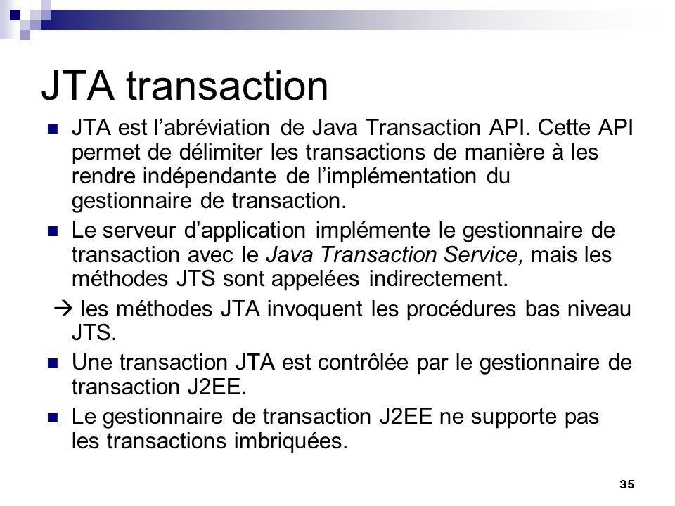 JTA transaction