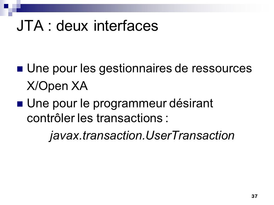 javax.transaction.UserTransaction
