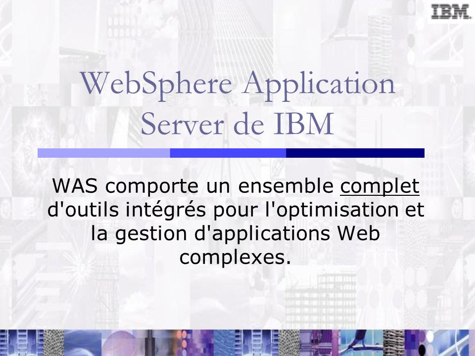 WebSphere Application Server de IBM
