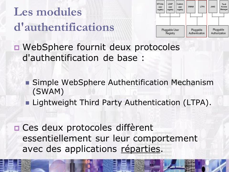 Les modules d authentifications