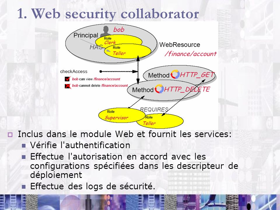 1. Web security collaborator