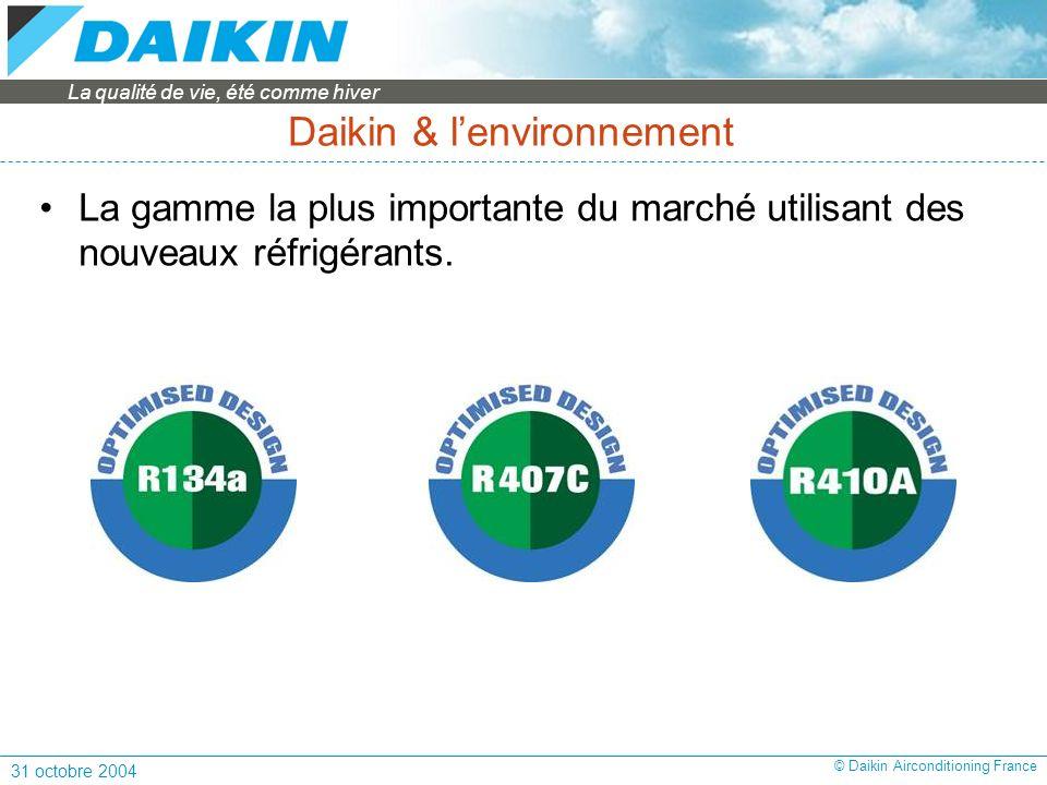 Daikin & l'environnement