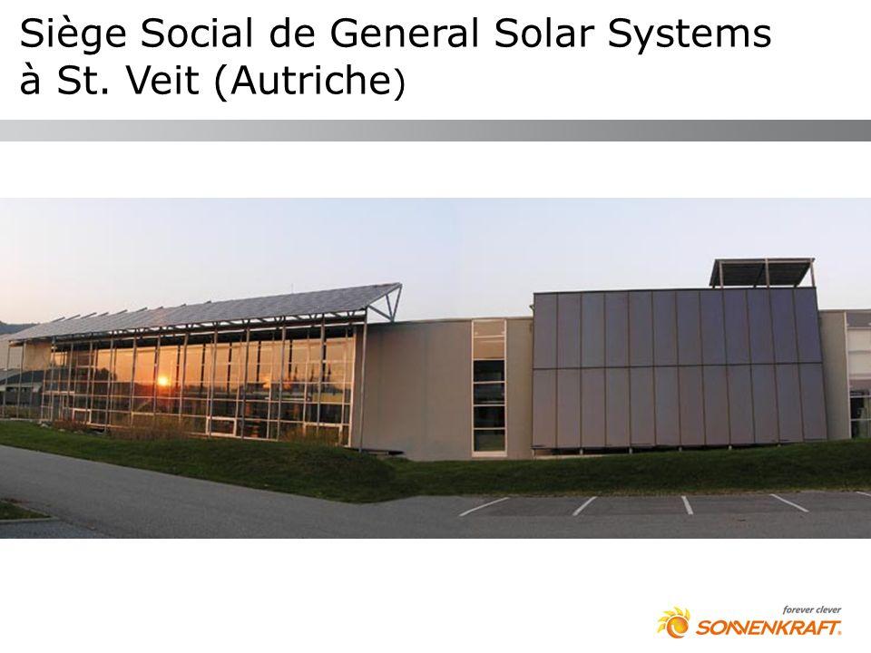 Siège Social de General Solar Systems à St. Veit (Autriche)