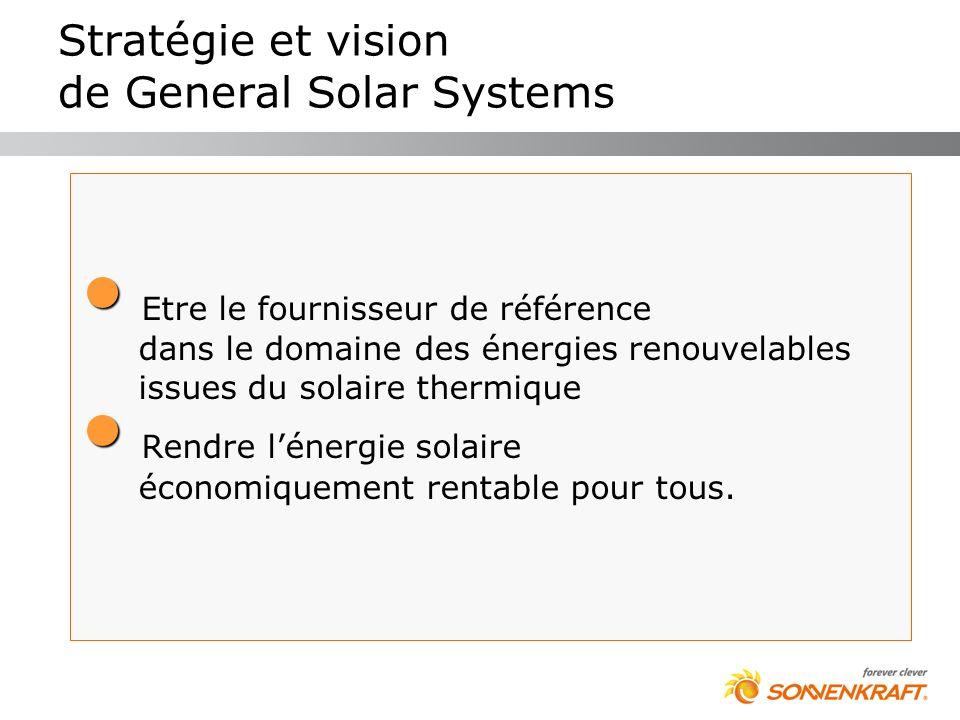 Stratégie et vision de General Solar Systems