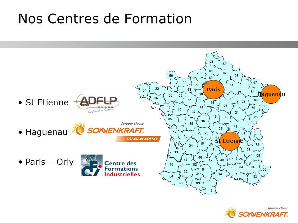 Nos Centres de Formation