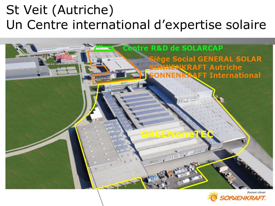 St Veit (Autriche) Un Centre international d'expertise solaire