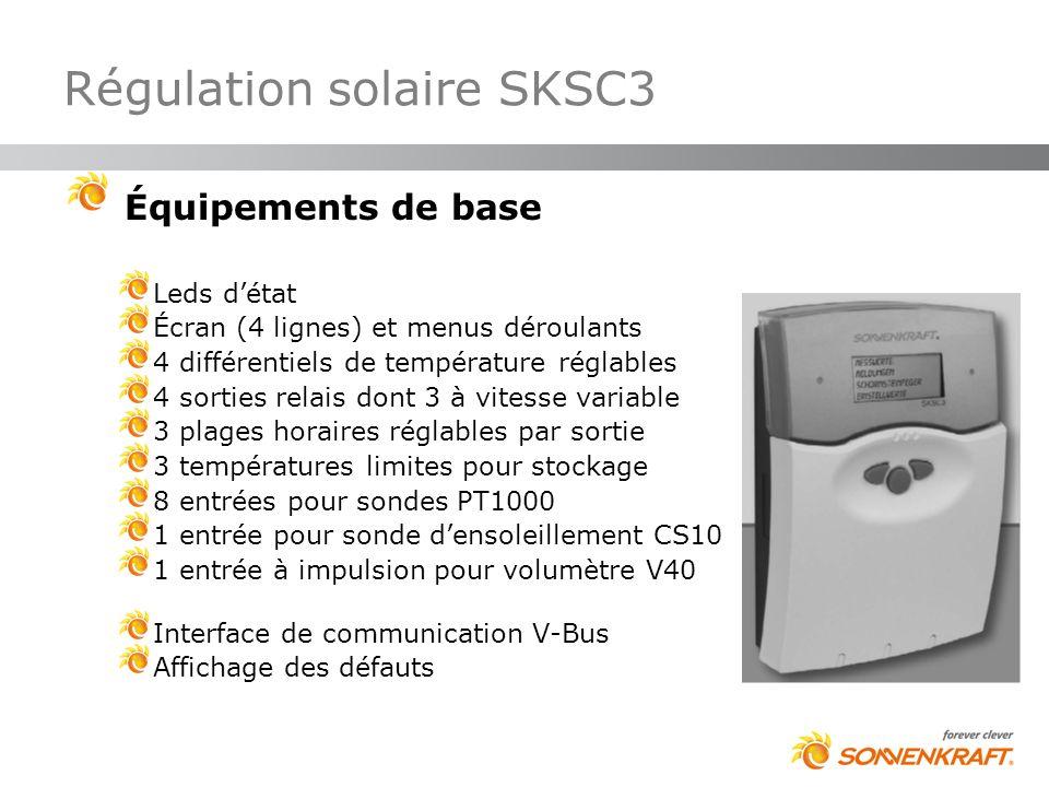 Régulation solaire SKSC3