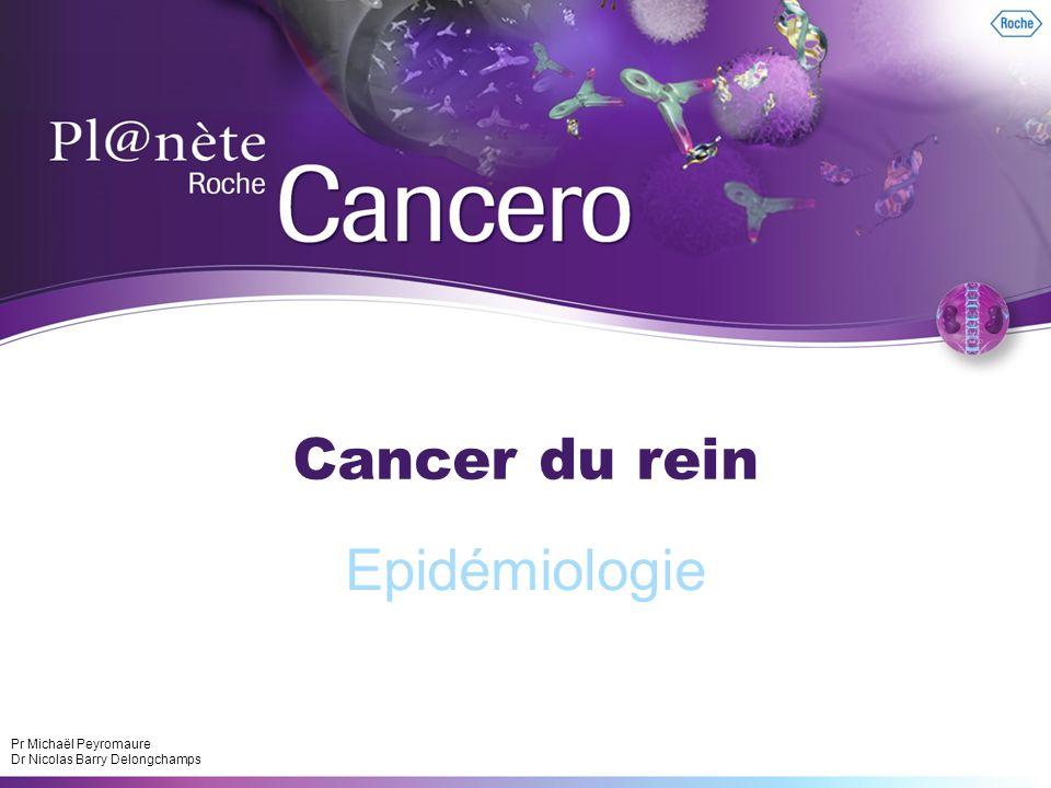 Cancer du rein Epidémiologie Pr Michaël Peyromaure