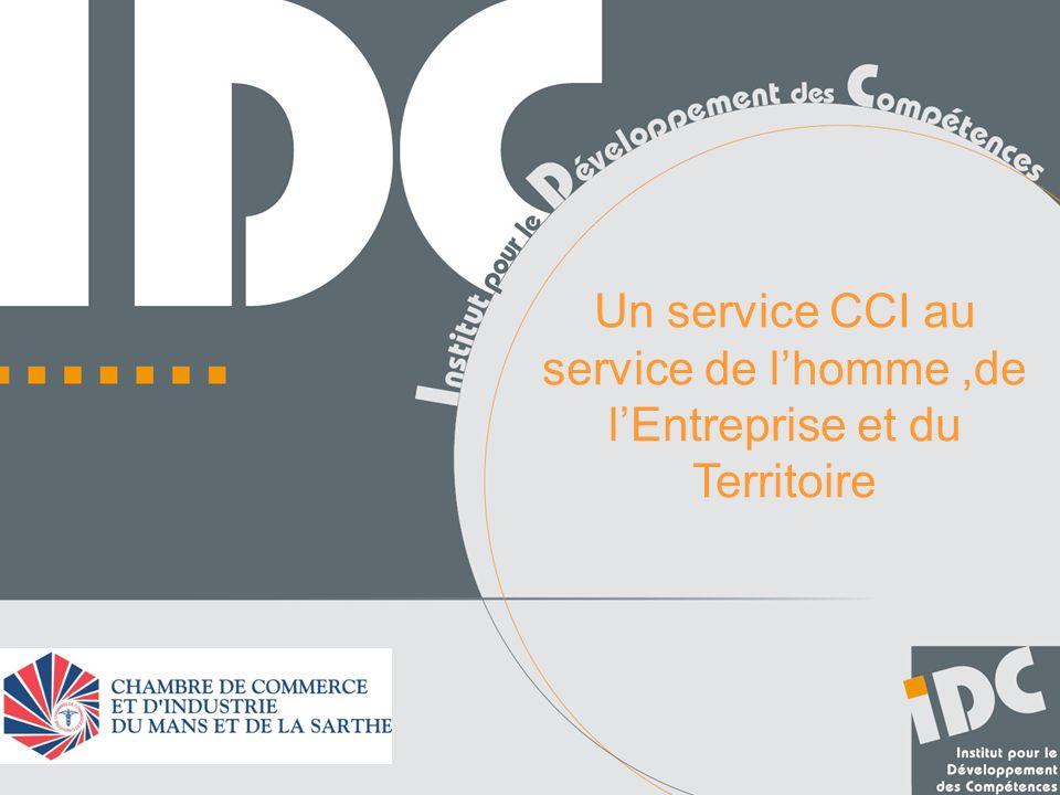 Un service CCI au service de l'homme ,de l'Entreprise et du Territoire