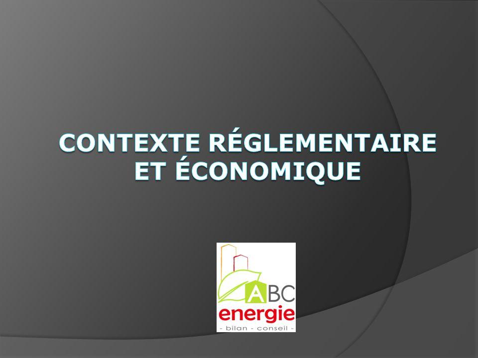 Contexte réglementaire et économique