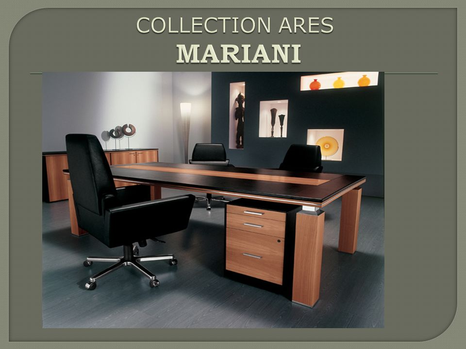 COLLECTION ARES MARIANI