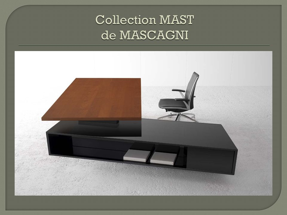 Collection MAST de MASCAGNI