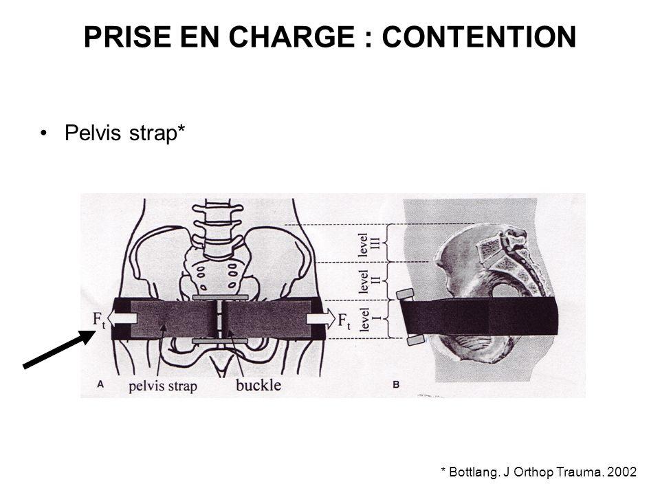 PRISE EN CHARGE : CONTENTION