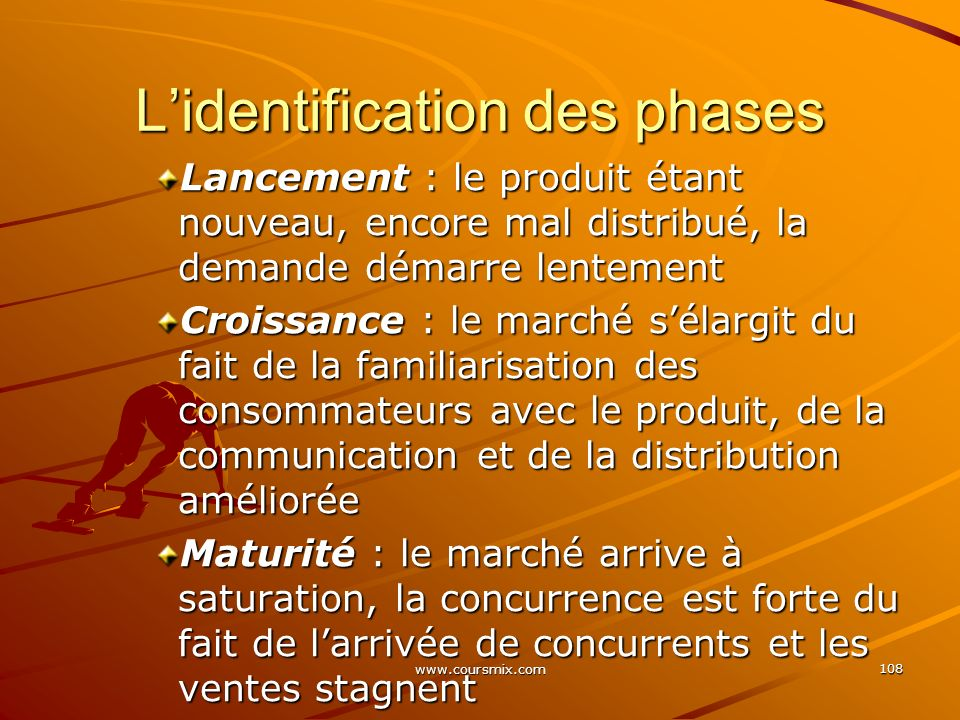 L'identification des phases