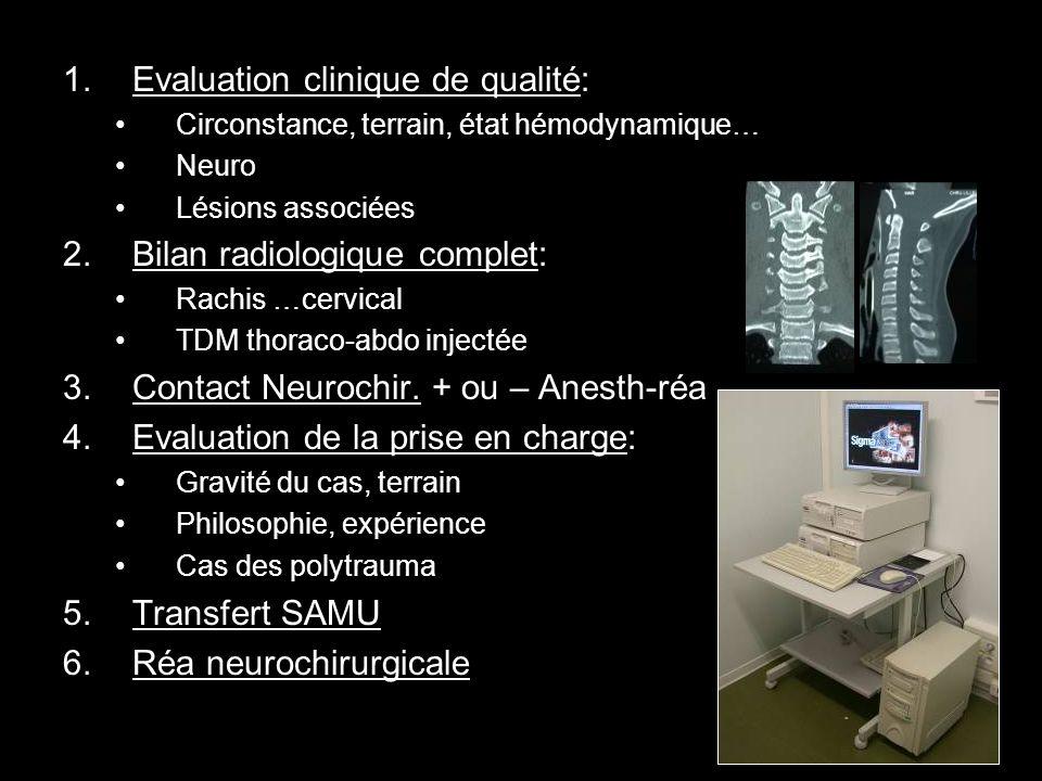 Evaluation clinique de qualité: