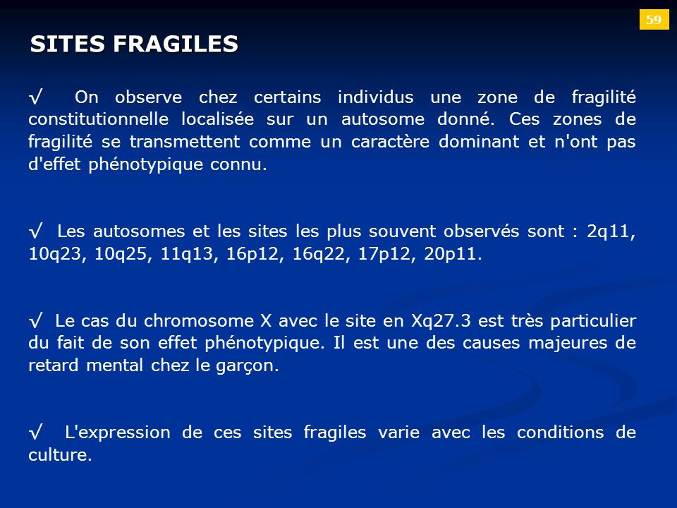 59 SITES FRAGILES.