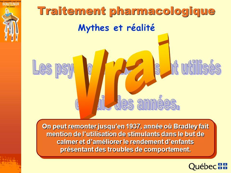 Traitement pharmacologique