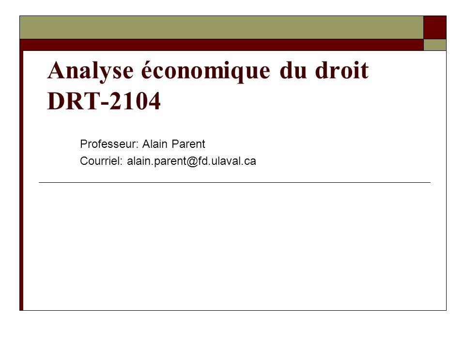 Analyse économique du droit DRT-2104