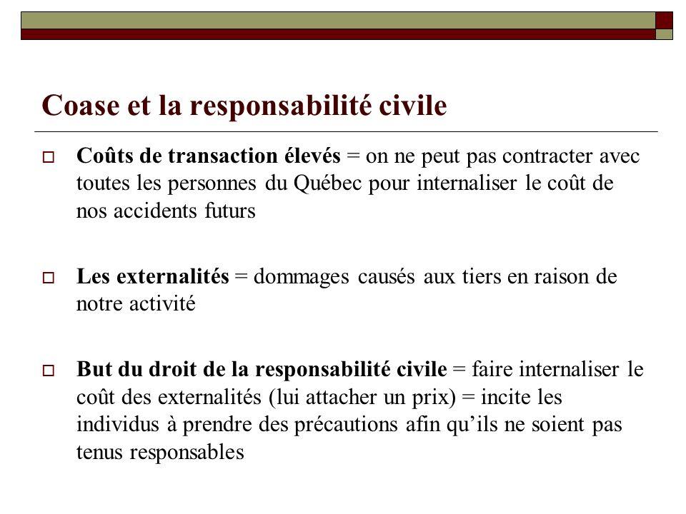 Coase et la responsabilité civile