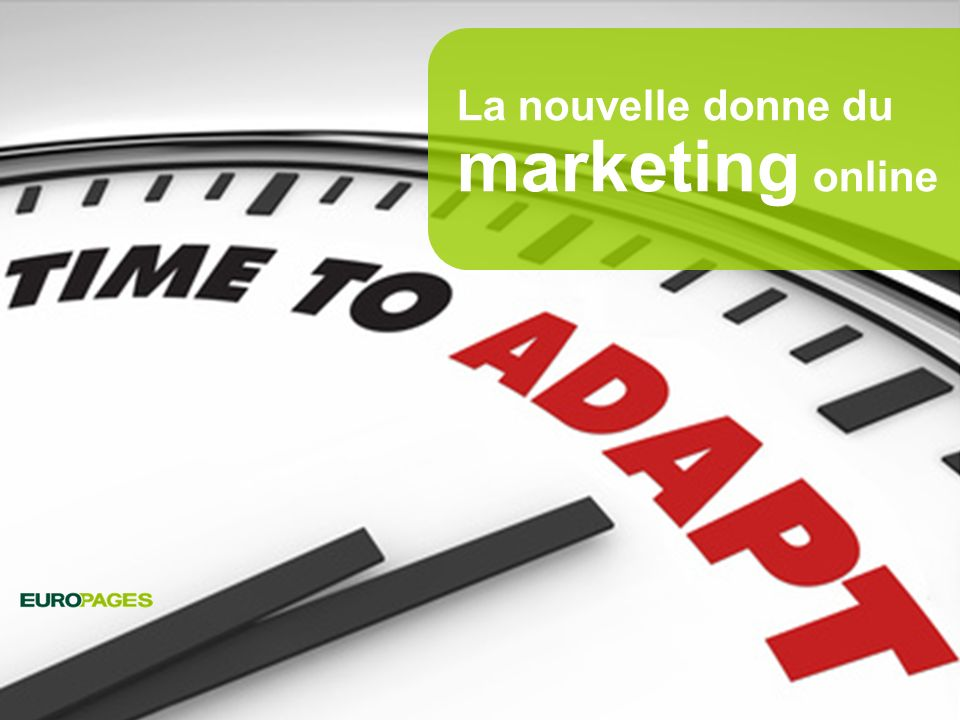 La nouvelle donne du marketing online