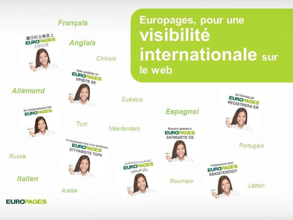 Europages, pour une visibilité internationale sur le web