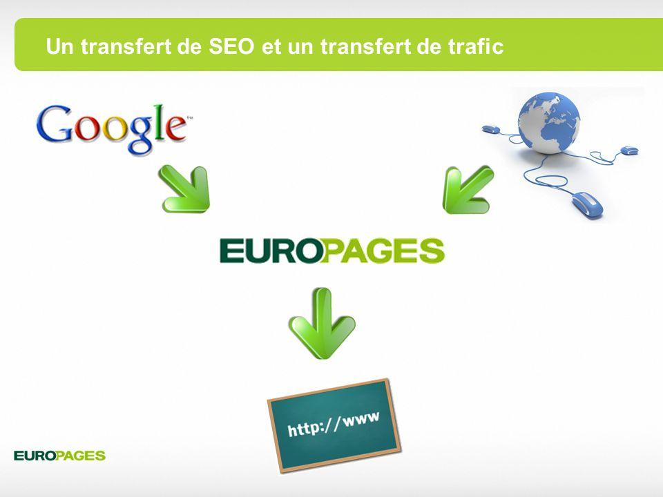 Un transfert de SEO et un transfert de trafic