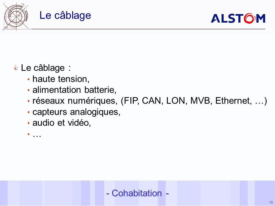 Le câblage Le câblage : haute tension, alimentation batterie,