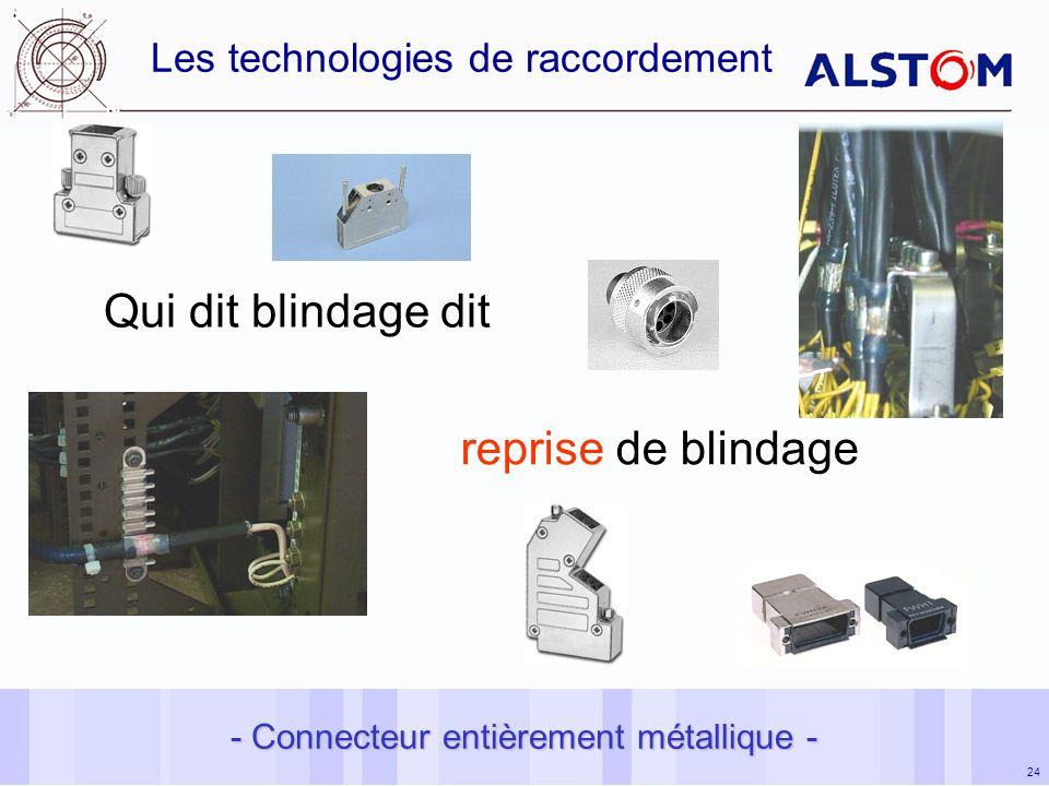 Les technologies de raccordement