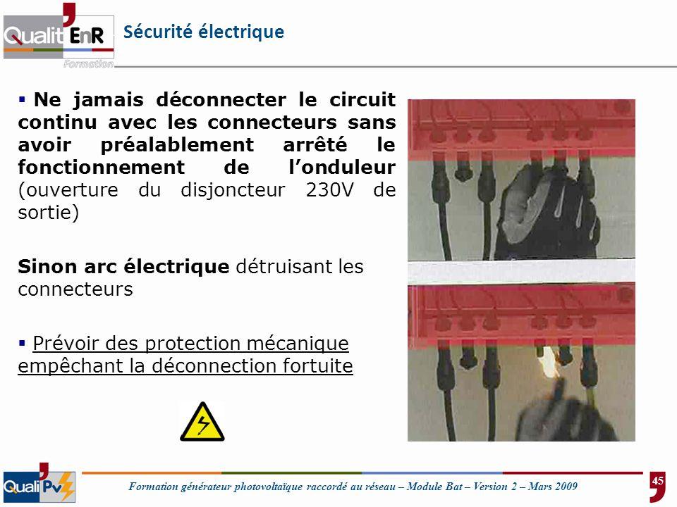 Sécurité électrique