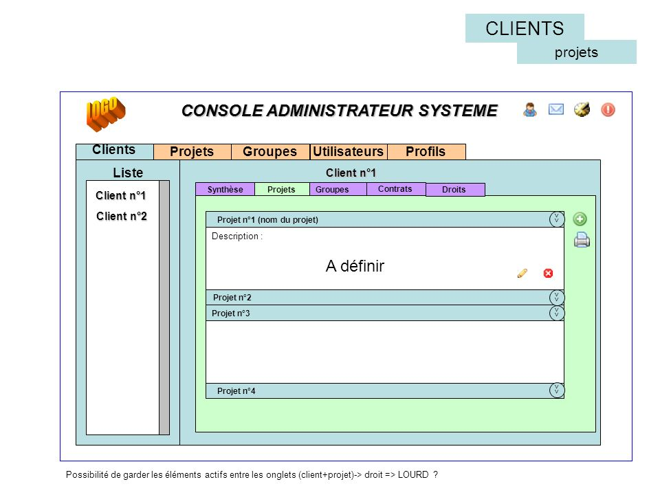 LOGO CLIENTS CONSOLE ADMINISTRATEUR SYSTEME