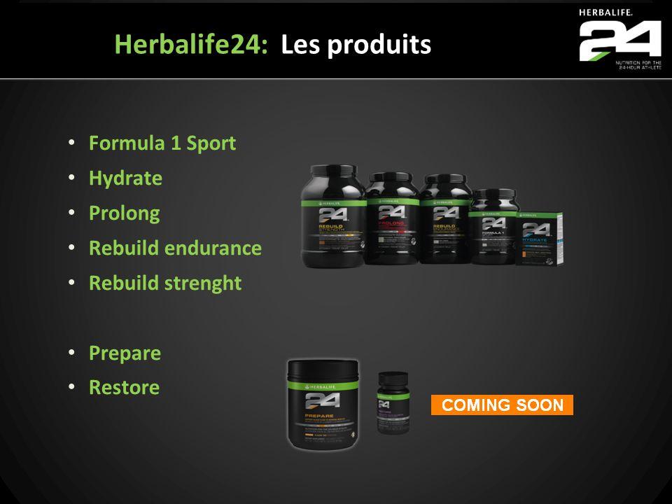 Herbalife24: Les produits